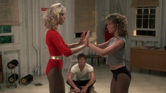 Dirty Dancing Penny Baby and Johnny training
