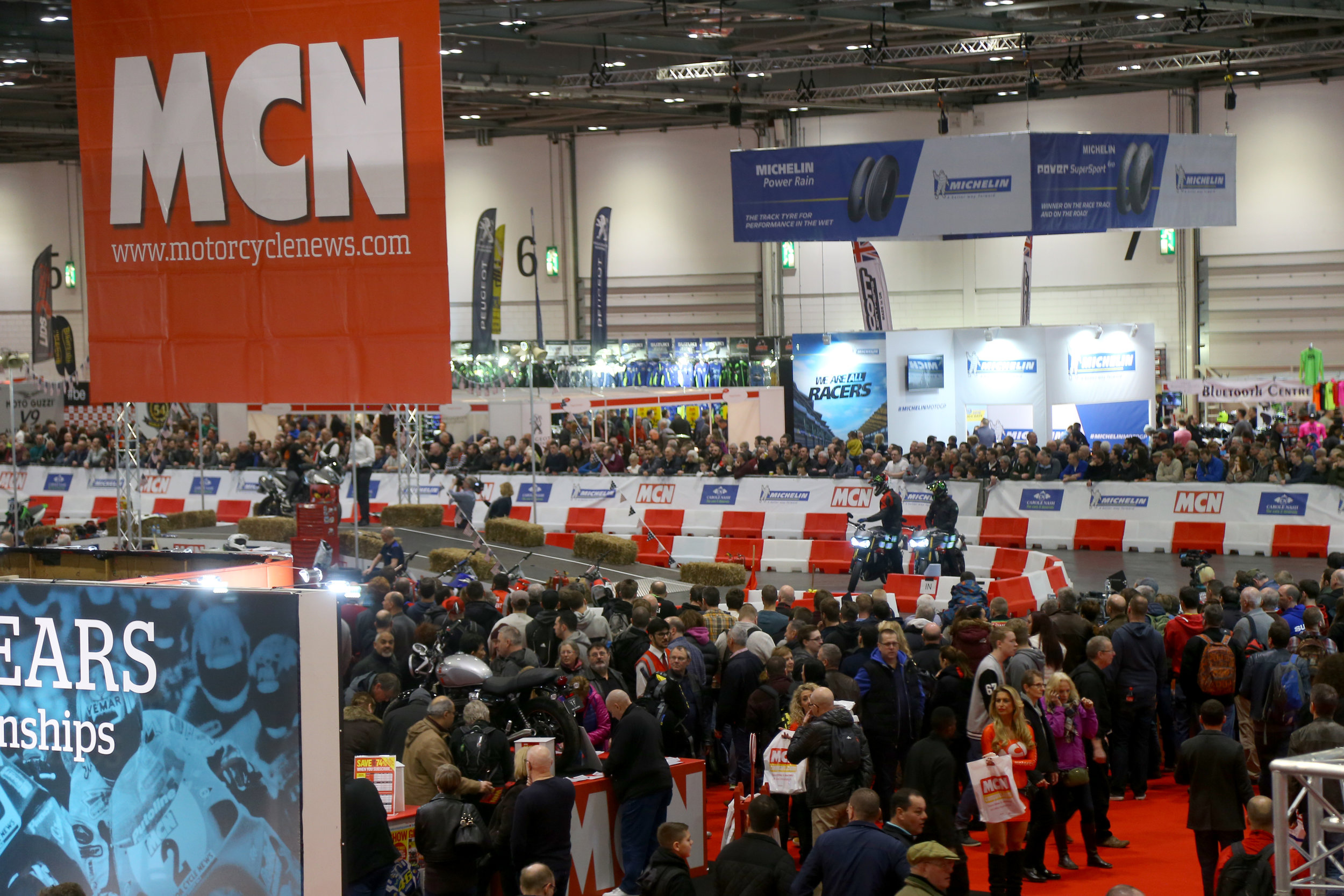 Holeshot PR helped ensure the Carole Nash MCN Motorycle Show increased visitors once again