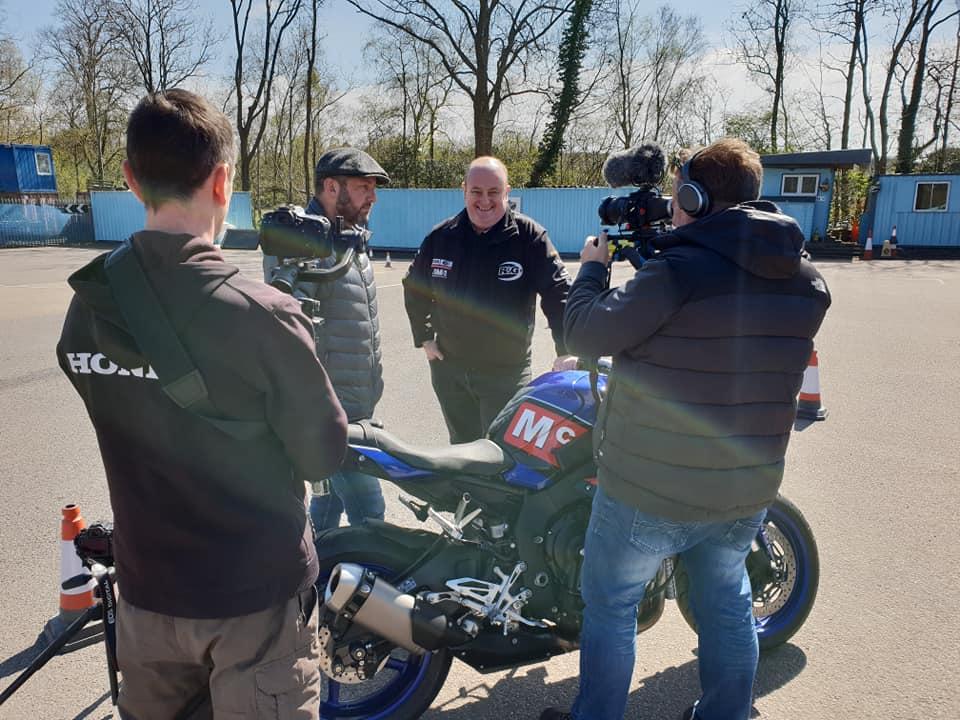 Holeshot PR - R&G crash test video case study