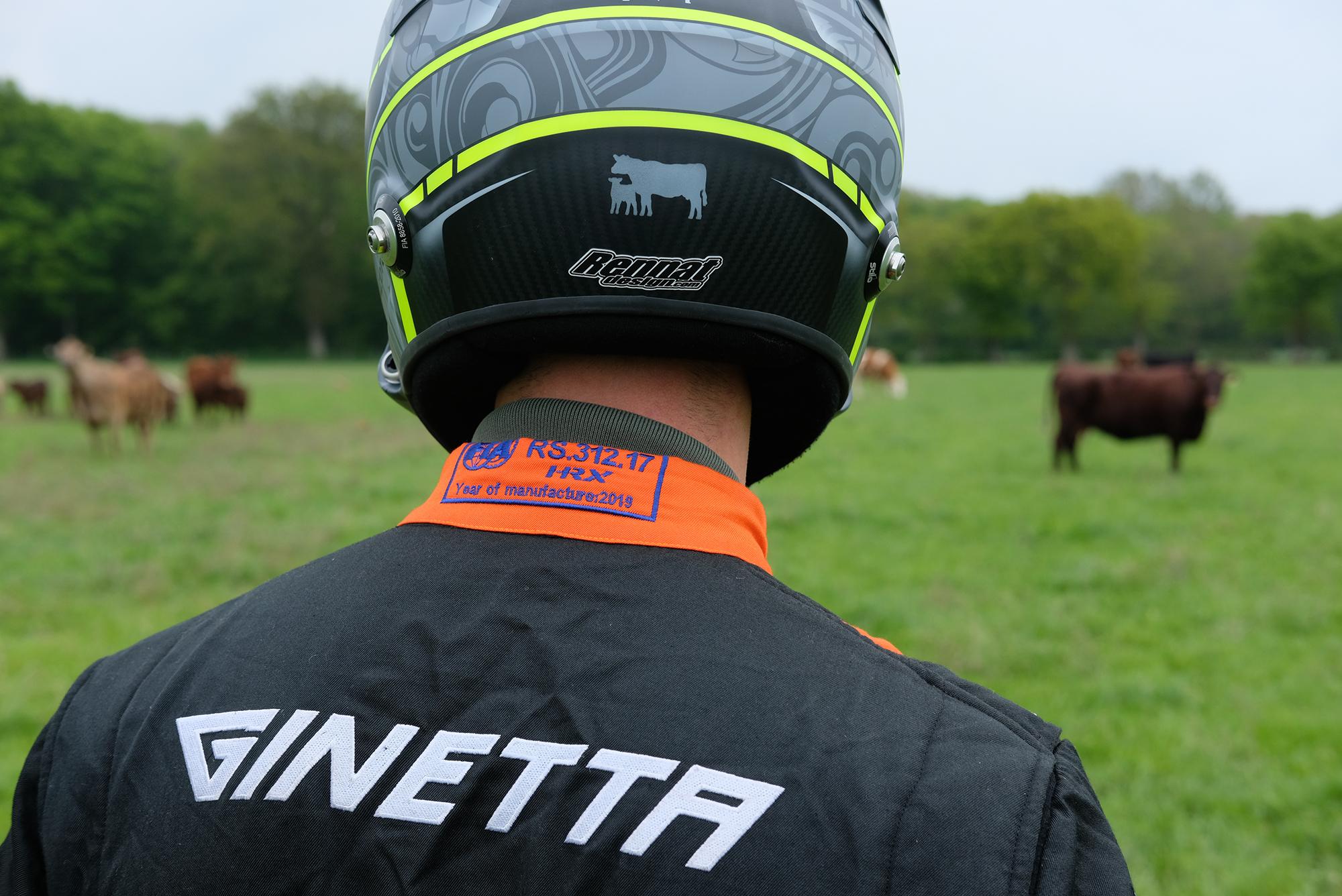 Nathan Heathcote on the farm