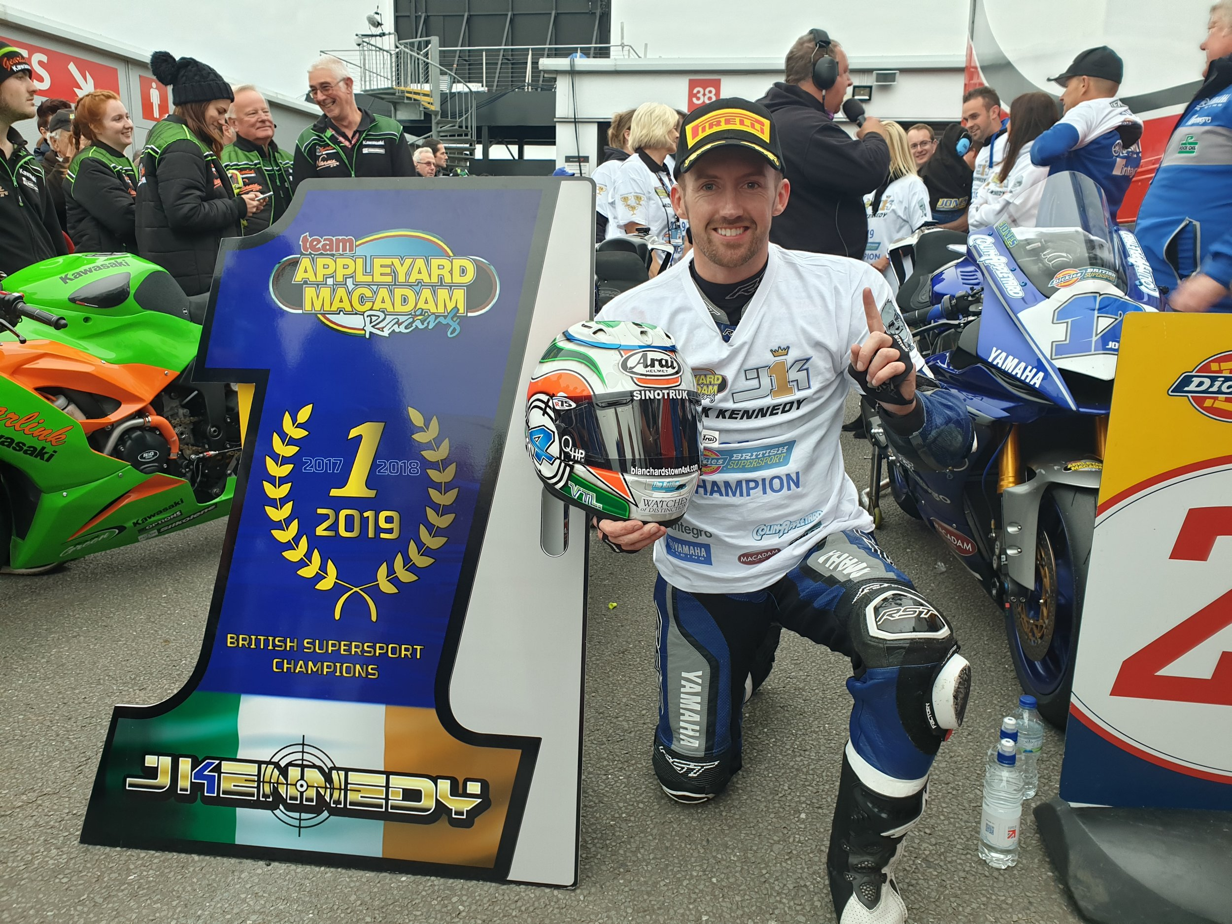 Jack Kennedy wins the 2019 Dickies British Supersport Championship