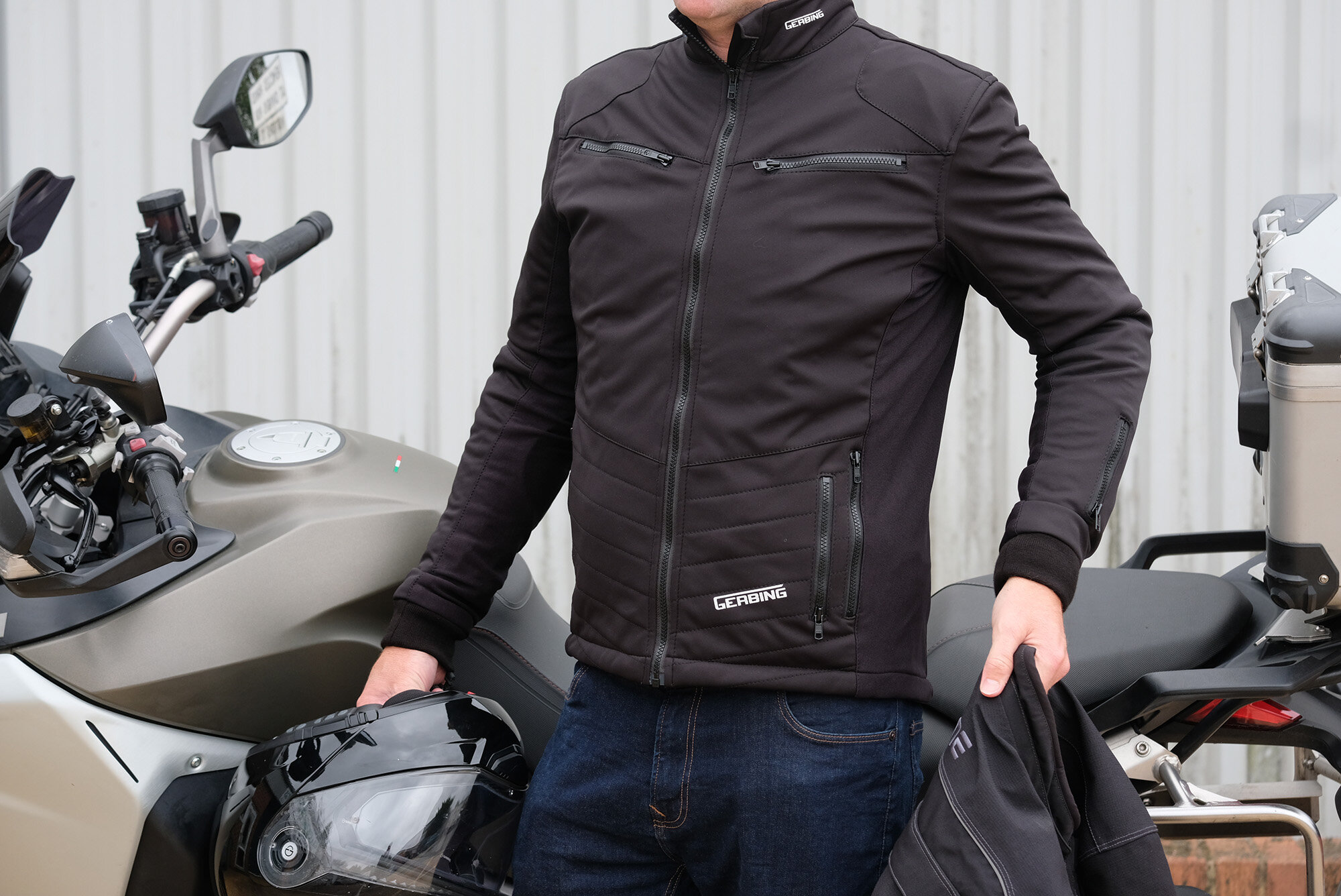 Gerbing UK heated motorcycle jacket