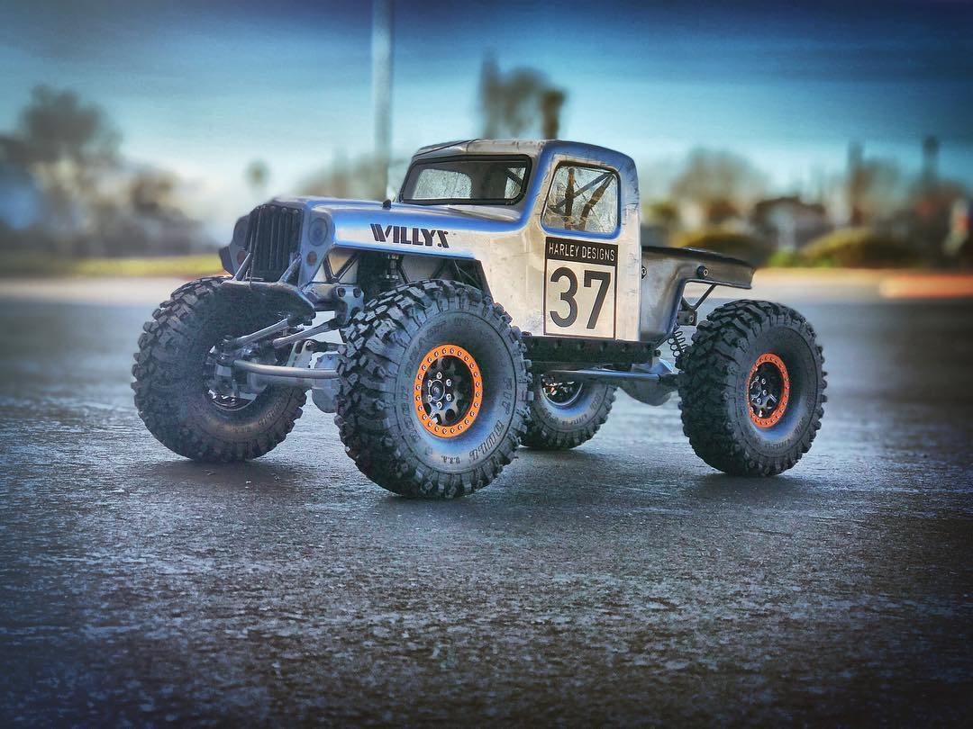 Crawlmaster's 2019 VS4-10 Willys - A personal favorite and well documented video build series. A full build list is included with a linked list of all products used. This was sold in June of 2019.