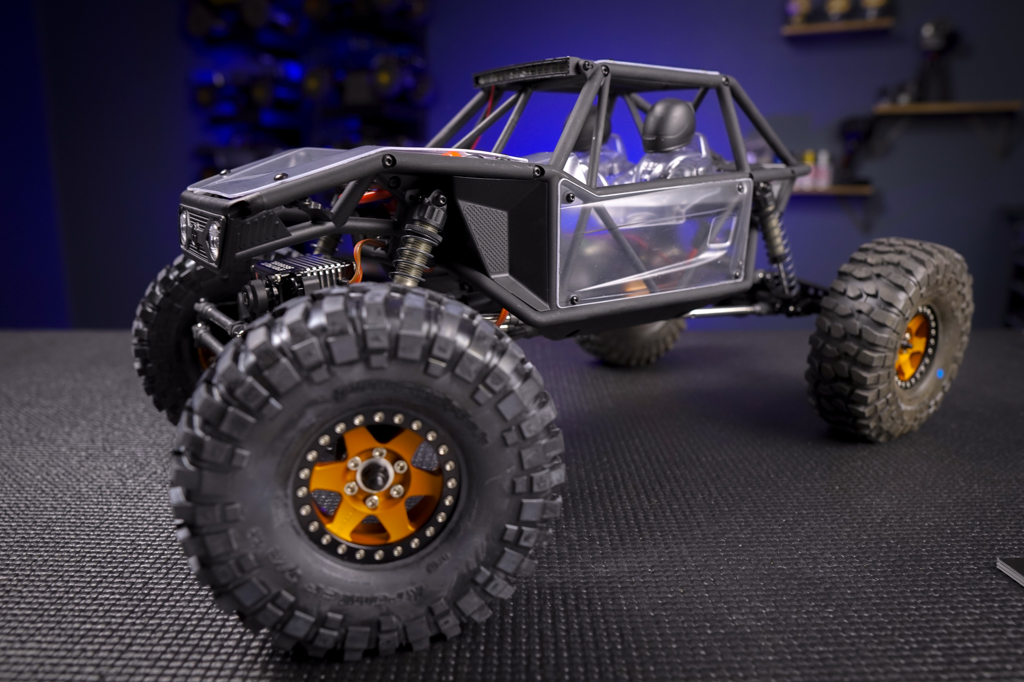 Axial Capra - Axial's jump into the portal market is one of the most appropriate uses yet!