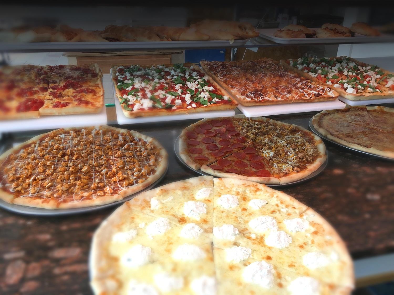 PIZZA PASTA BURRITOS
