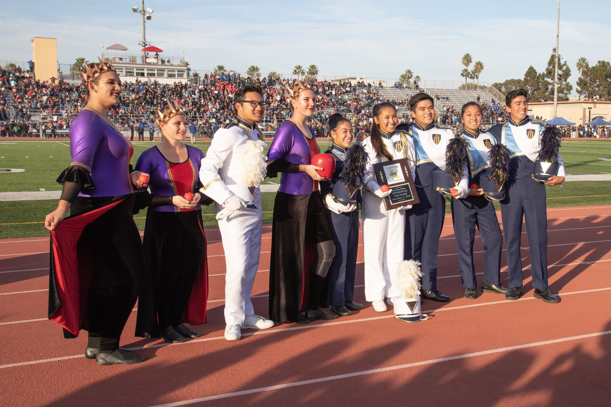 Top 5 Marching Band at State Championships