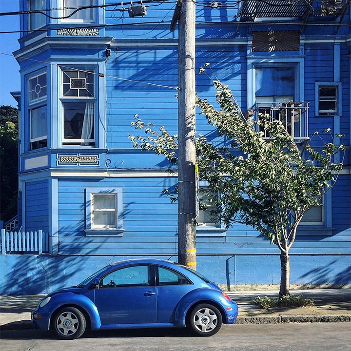 Beetle Baker Blue