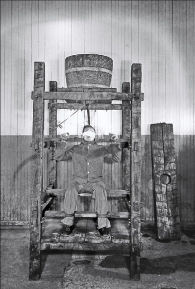 - Torture was ( and is still is) a standard technique of those 'cultured and kind' Chinese. The Chinese Water Torture depicted here was still in use in China up until the 1860's.