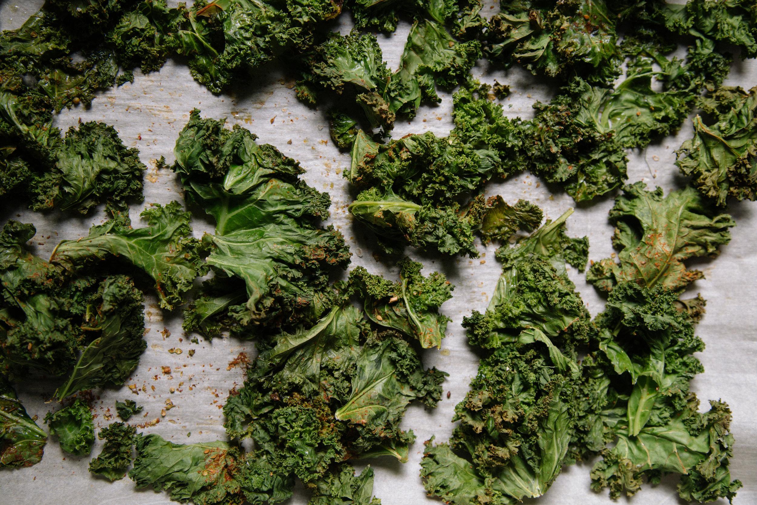 Kale Chips -