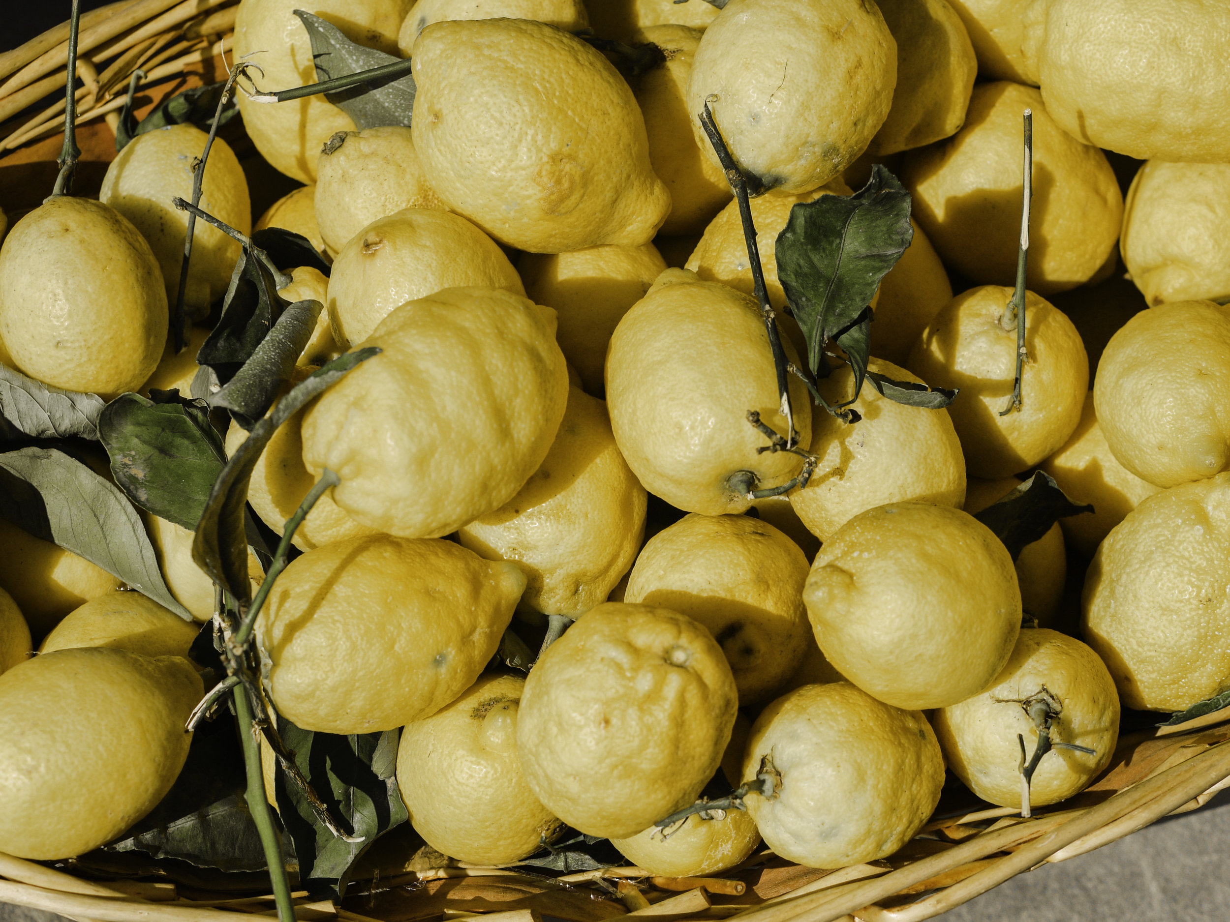 Lemon Scrap Vinegar -