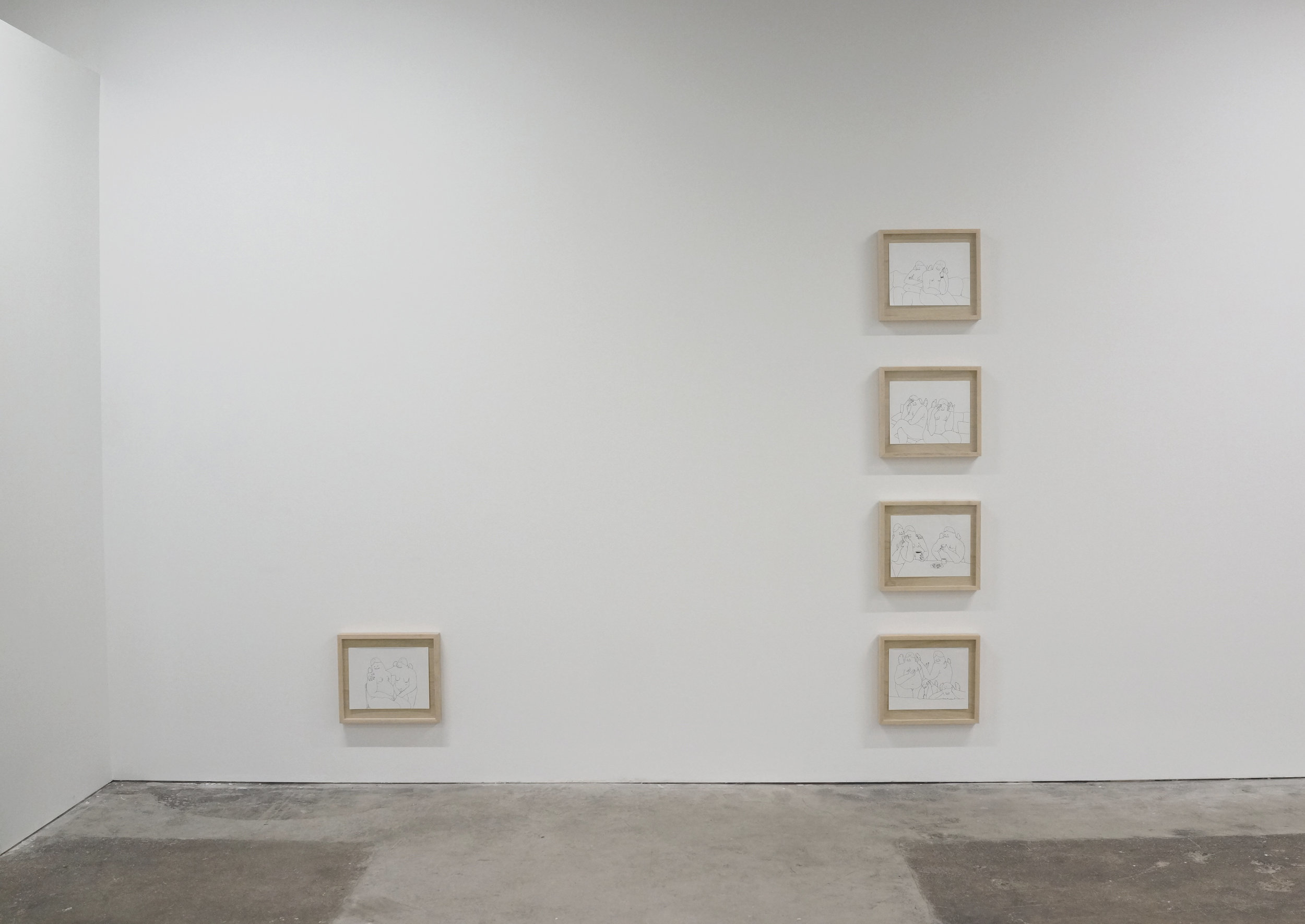 Installation view, Craig Calderwood