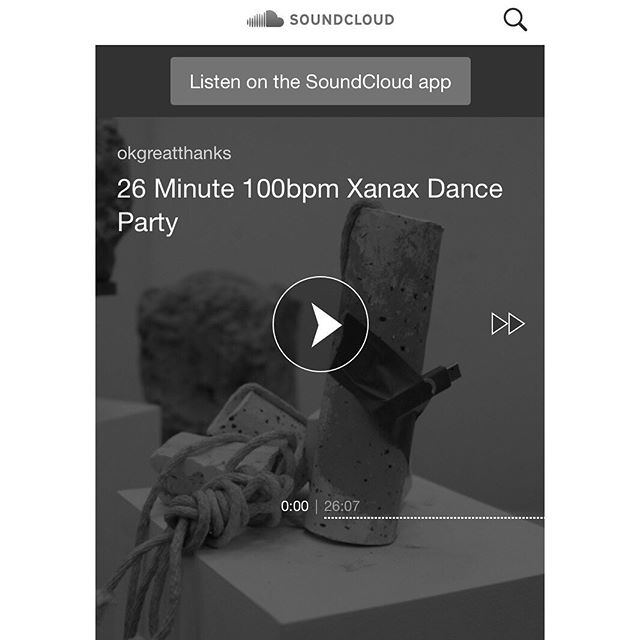 i managed to put together 26 minutes of music and there's a link in my bio if you'd like to listen on your ear buds on the train or at home on the bluetooth @sonos this is the first in monthly OK great thanks (my bedroom dj name) mix tapes recorded online in one take (all flaws present) thanks to @sonos for the sponsorship DM for address for speaker shipping