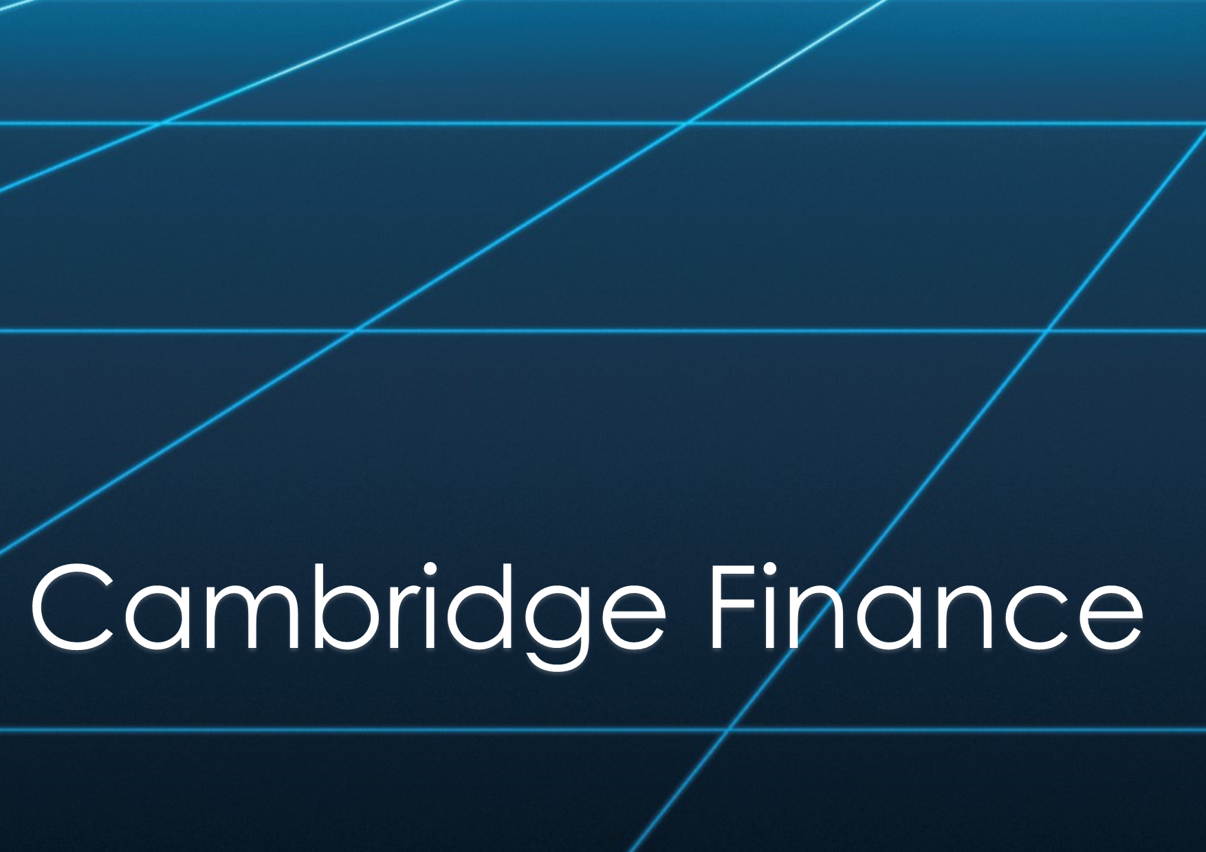 Cambridge Finance are a leading provider of premium real estate finance training. They draw on a huge network of expert trainers, academics and practitioners: those among the most knowledgeable and renowned specialists in their respective fields.  -