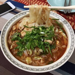 Spicy Lemongrass Noodles