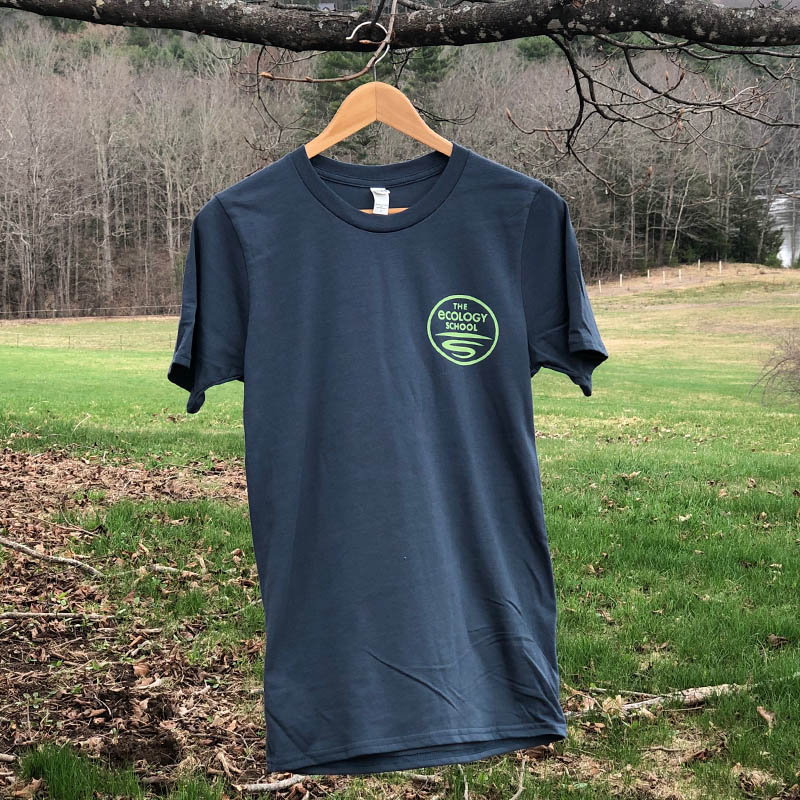 The Ecology School T-Shirt · $17 - Super soft, 100% organic cotton T-shirt! Made in the USA.