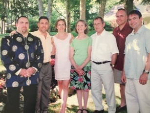 Pictured Left to Right: Scott Parent, Michael Parent, Amy Ouellette, Sharon Parent, Reg Parent, Mark Parent, and Craig Parent