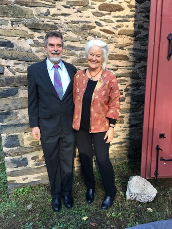 Paul Gabrielson and Mary Love May