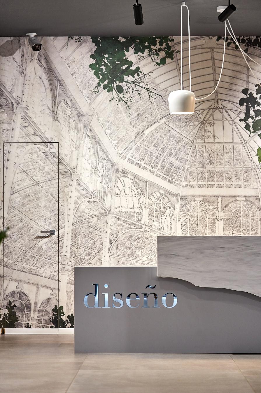 Diseno | Porcelanosa Showroom -