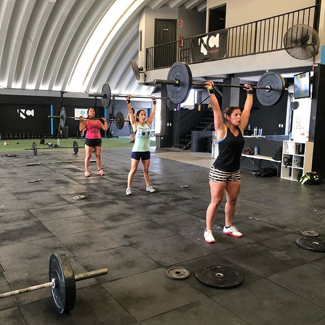 I would like to thank are friends from Central California for dropping in and putting in work this morning! @alishadlc @crossfitmama3 @soldbyjorge @christianjoy77 @jeffdela5 @biglese
