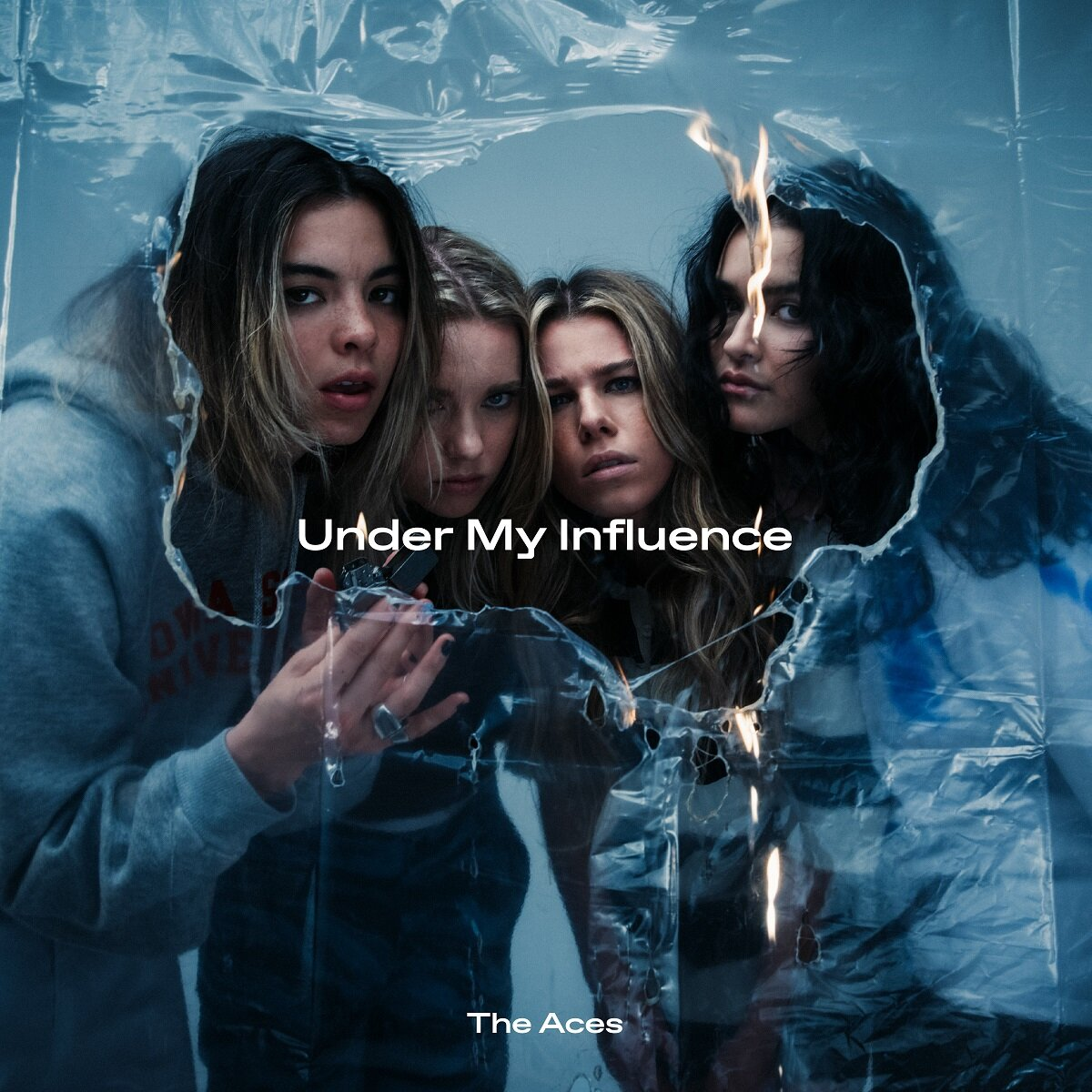 "The Aces announce new album 'Under My Influence,' unveil new single ""My Phone Is Trying To Kill Me"""