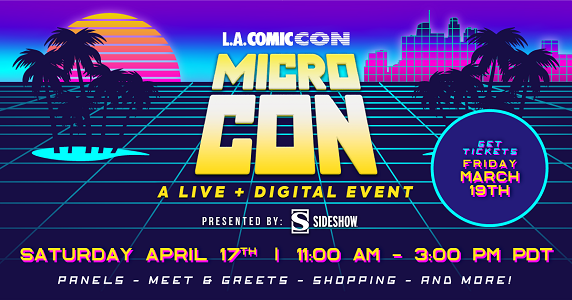L.A. Comic Con's Micro Con arrives this Saturday (SpongeBob SquarePants, Dungeons and Dragons)