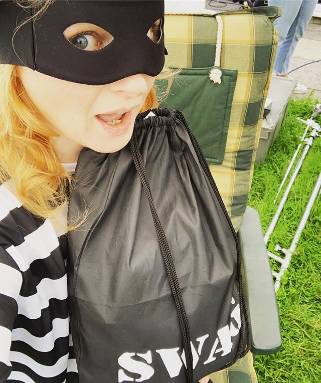Hamburglar lives! . Having a great time filming today. . . . . . . . . . . . . . . . #ActorsLife #Actor #Theatre #Film #TV #Gingersofinstagram #Redheadsofinstagram #Actorsofinstagram #instaactor #BritishActor #funnylady #redheadsdoitbetter #redheadsrule #redheadsunite #actingskills #redheads_of_insta #redheads_of_instagram #northerner #characteractor #londonactor #redheadoftheday #actressesofinstagram #britishactors #independentfilm #filming🎬 #onlocation #lifeonlocation