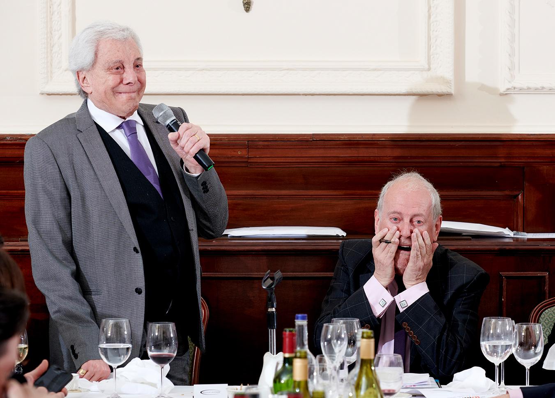 Lionel Blair and Gyles Brandreth