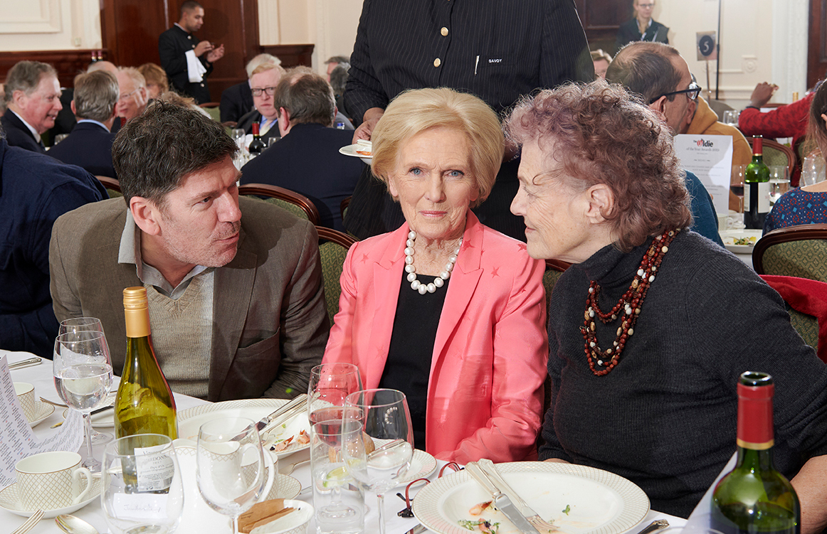 Russell Norman, Mary Berry & Elisabeth Luard