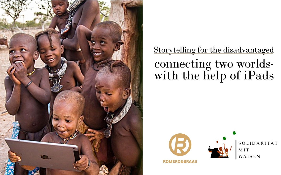 "The Romero&Braas Foundation - Every year Romero&Braas chooses one NGO and supports it with the production of audiovisual material, free of charge. This year, we travel to Tanzania to support ""solidarity with orphans""."