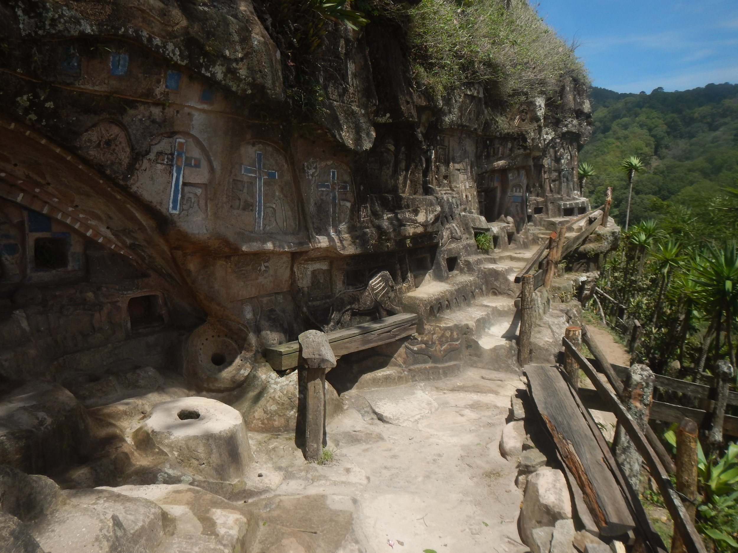 The Cliff Carvings of El Tisey