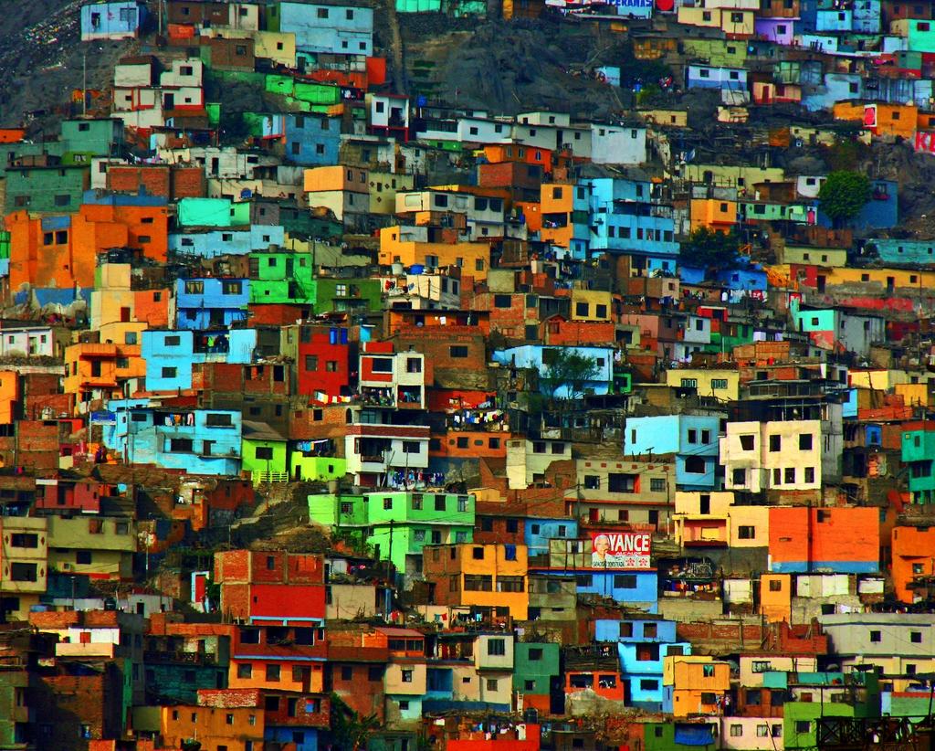 Houses in Peru