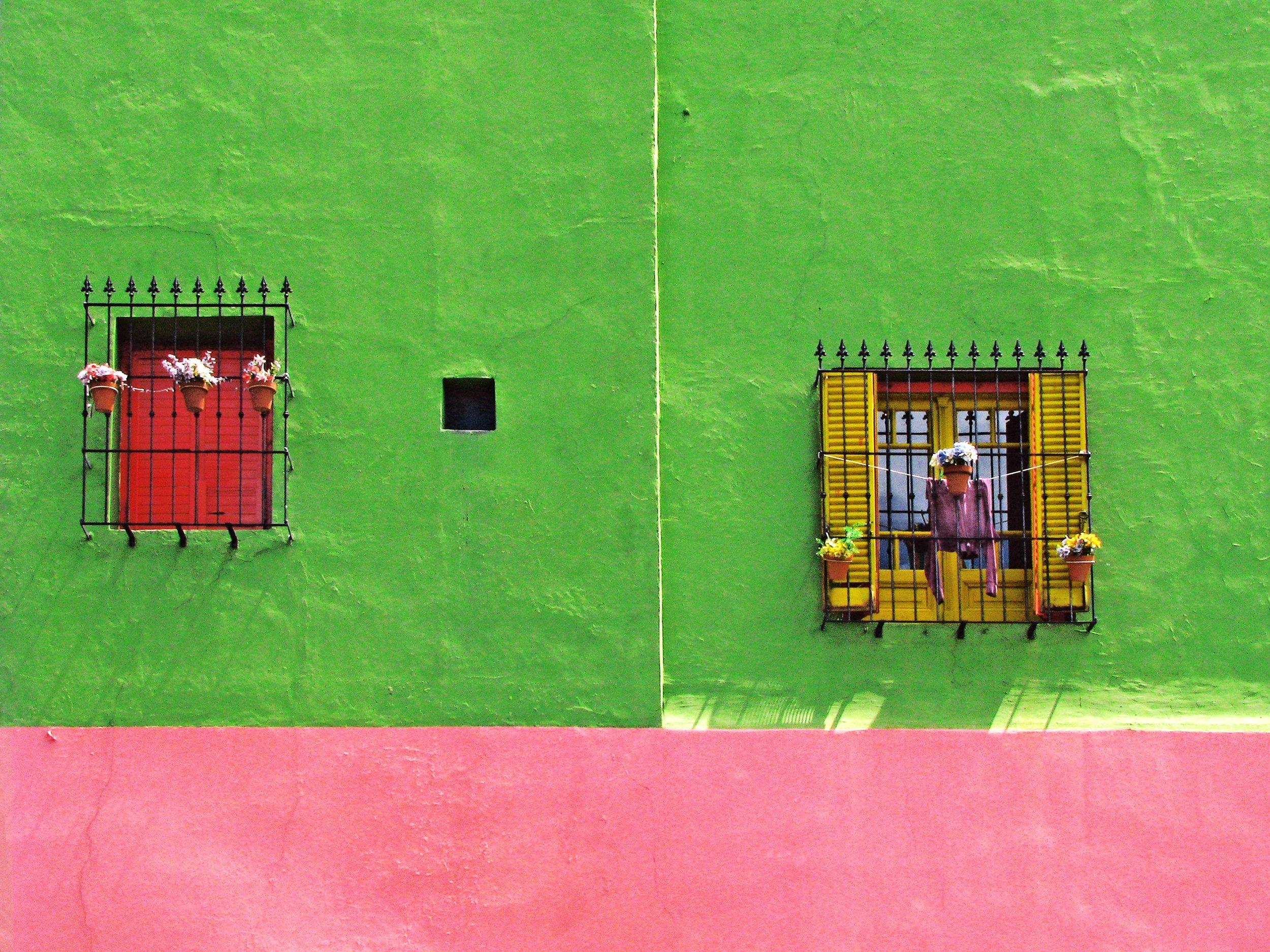 Colors of La Boca