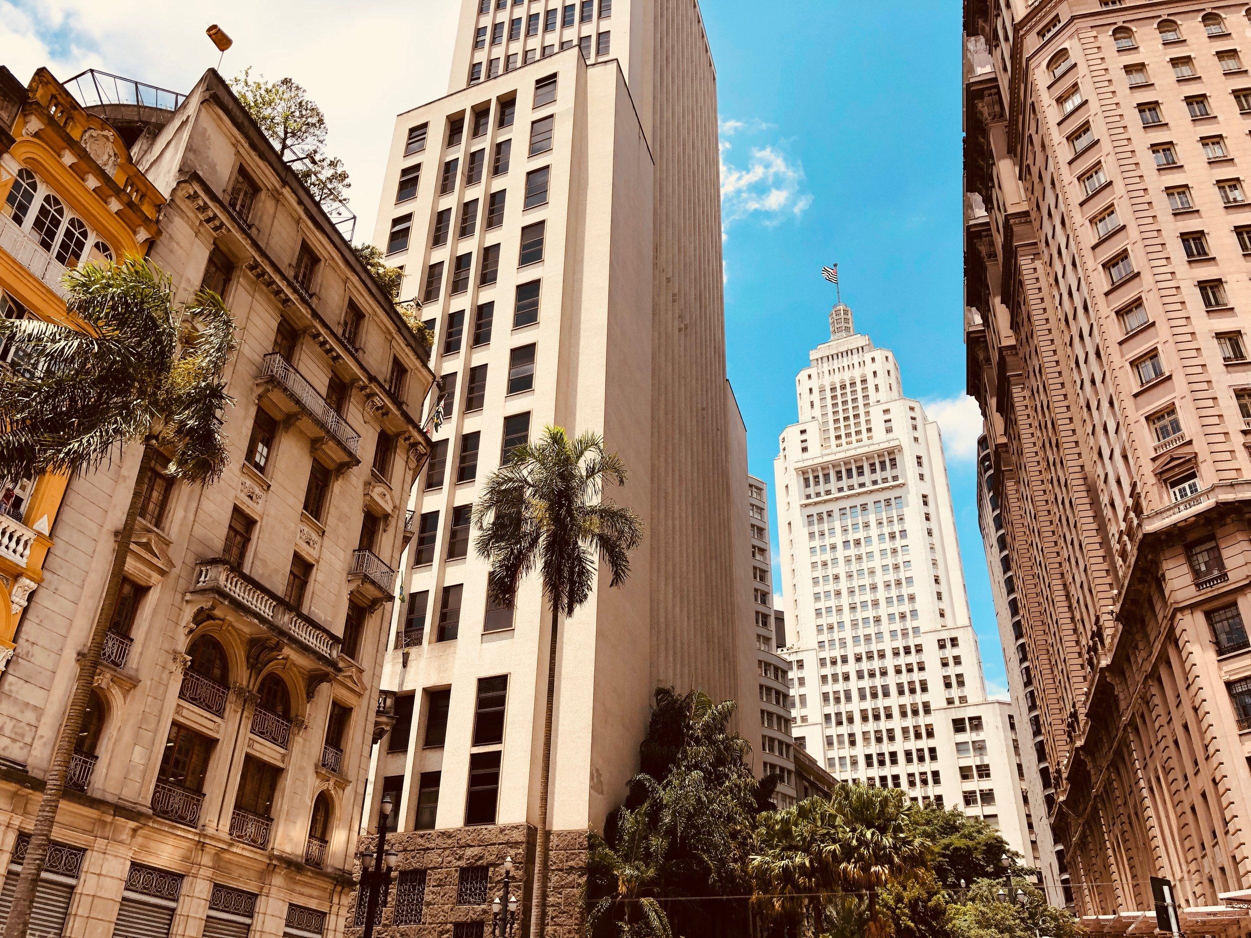 City in Sao Paulo