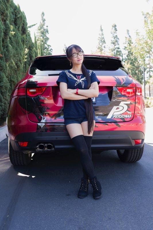 Xanthe_Huynh_Persona_5_Car