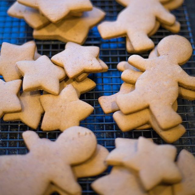 Ginger people #ontheblog! Spicy Gingerbread Cookies are a great way to kick off the holiday season!  #feedfeed #f52grams #marthastewart #cookies #recipes #gingerbread #Christmas #vscocam