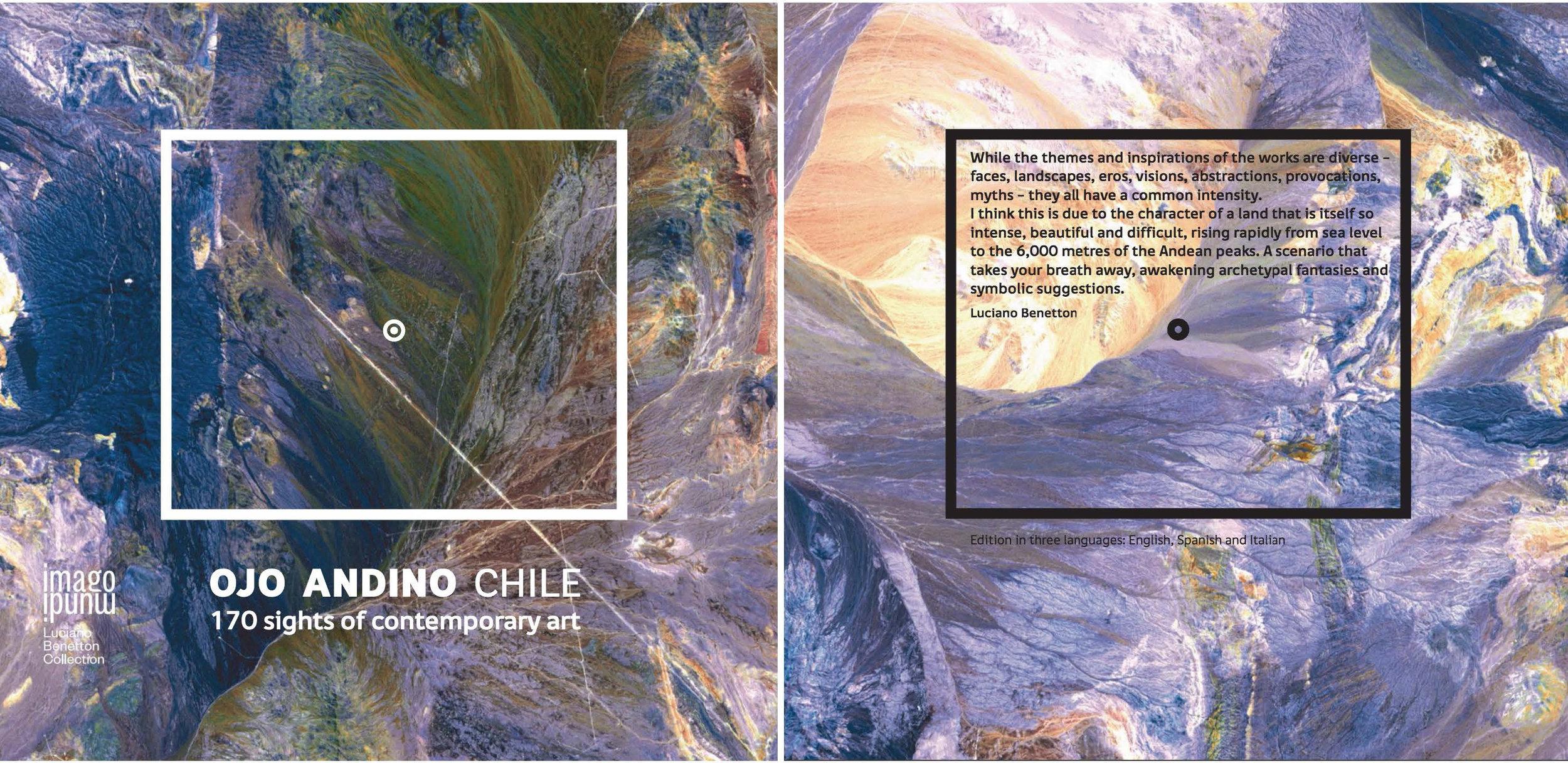 """2015: Libro """"Ojo Andino"""", Colección Luciano Benneton, Milan, Italia."""