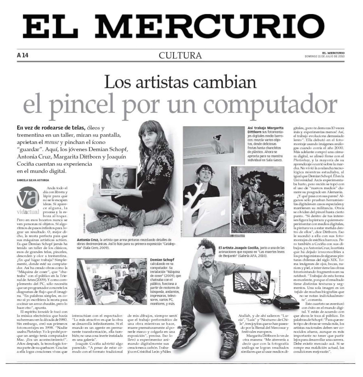 El Mercurio, Cultura