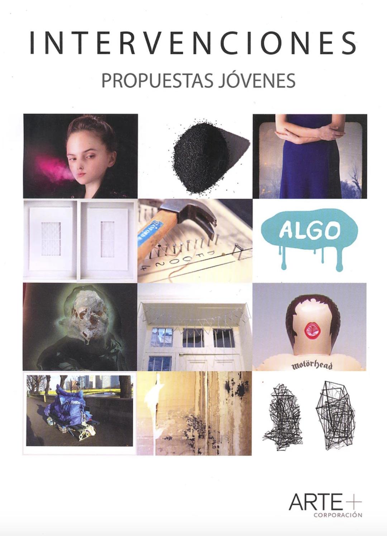 """2013: Catálogo """"Intervenciones"""" galería Patricia Ready, Santiago, Chile."""