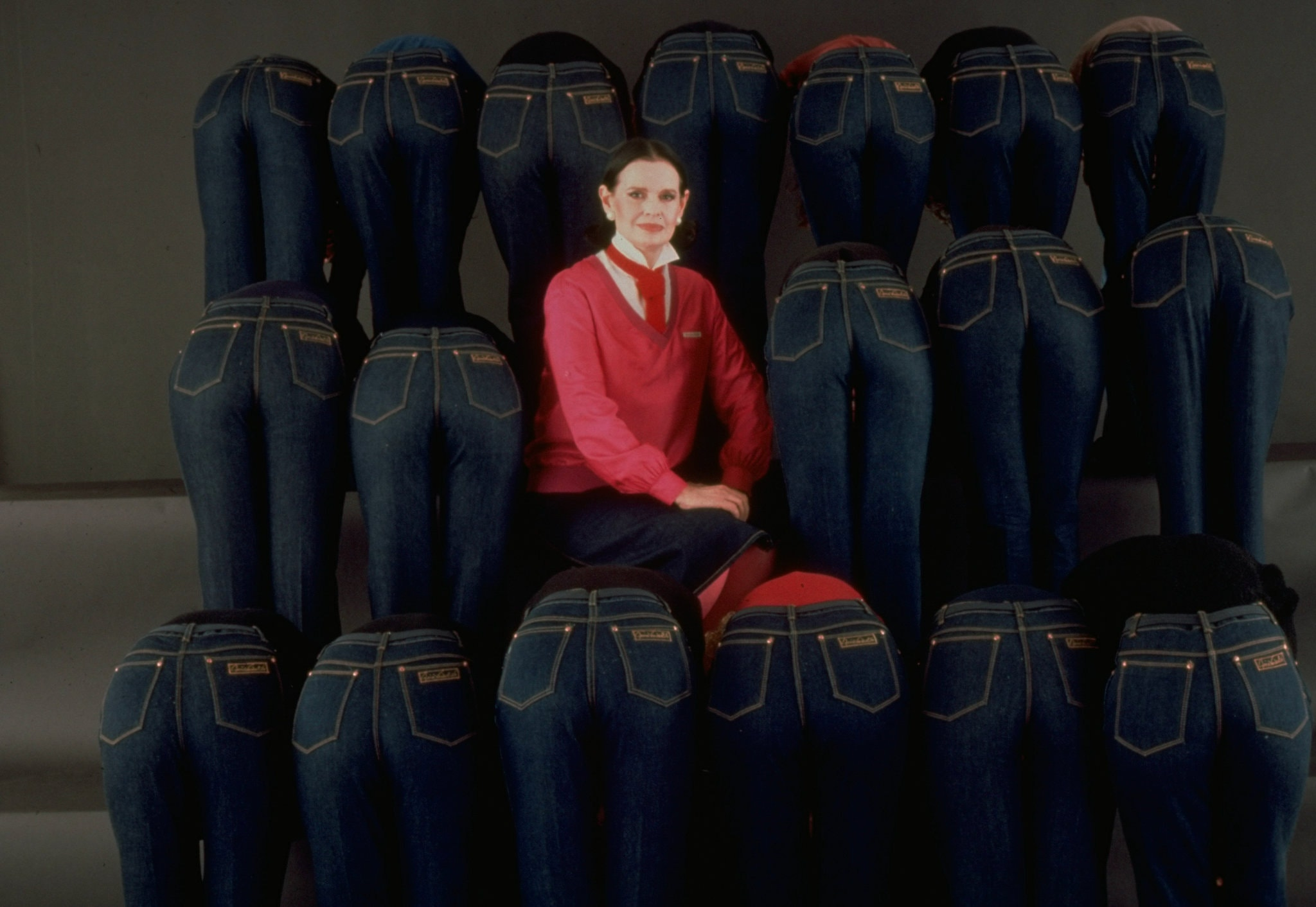 Gloria Vanderbilt and Her Famous Jeans  Photo:  The Life Images Collection via Getty Images