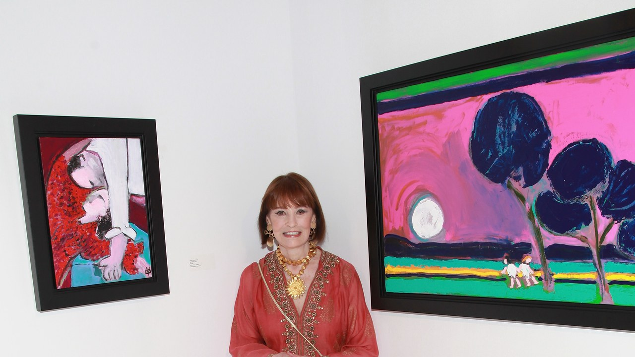 Gloria Vanderbilt and Her Art Collection  Photo:  Taylor Hill/Film Magic