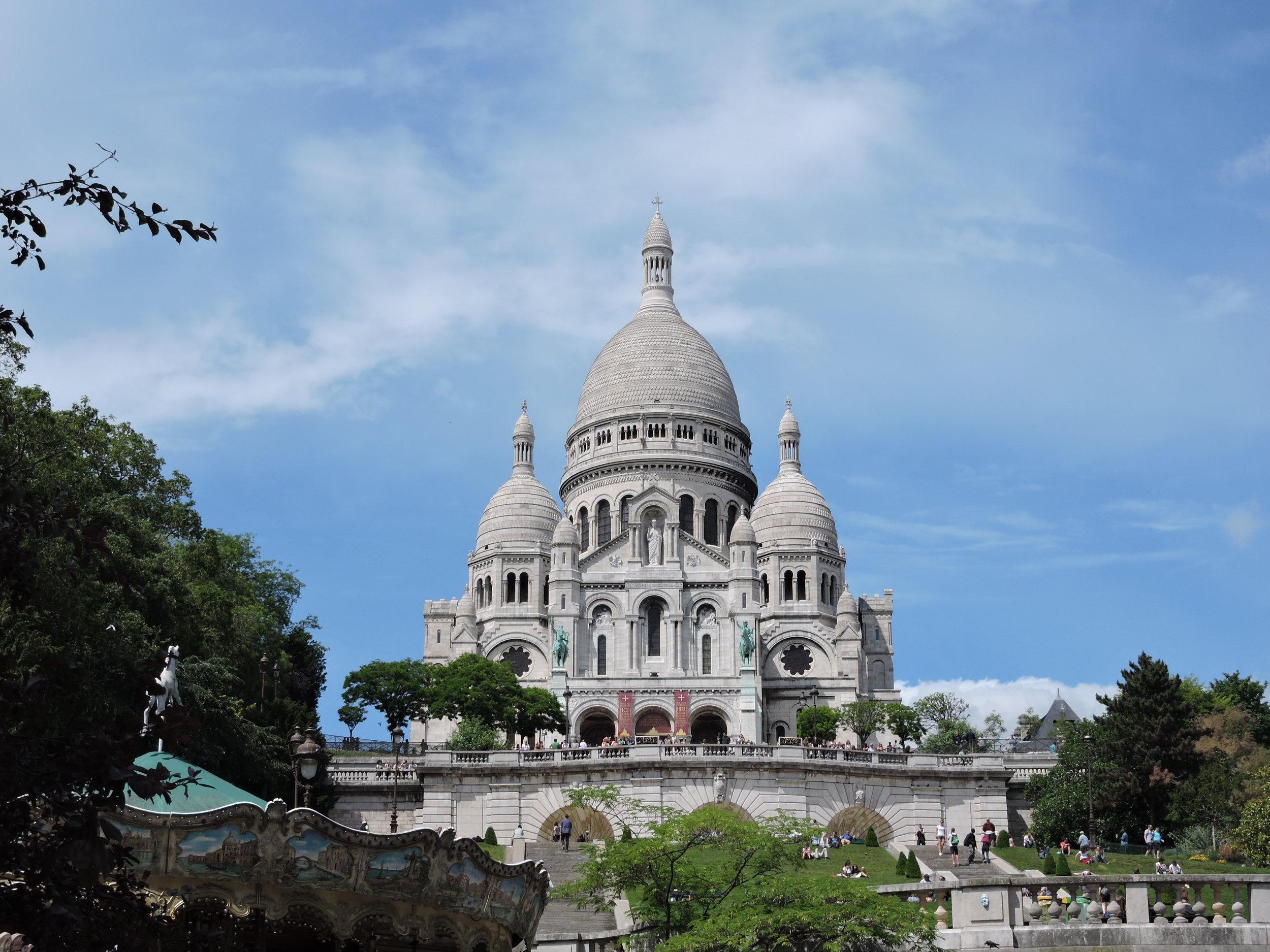 La Basilique du Sacré Cœr