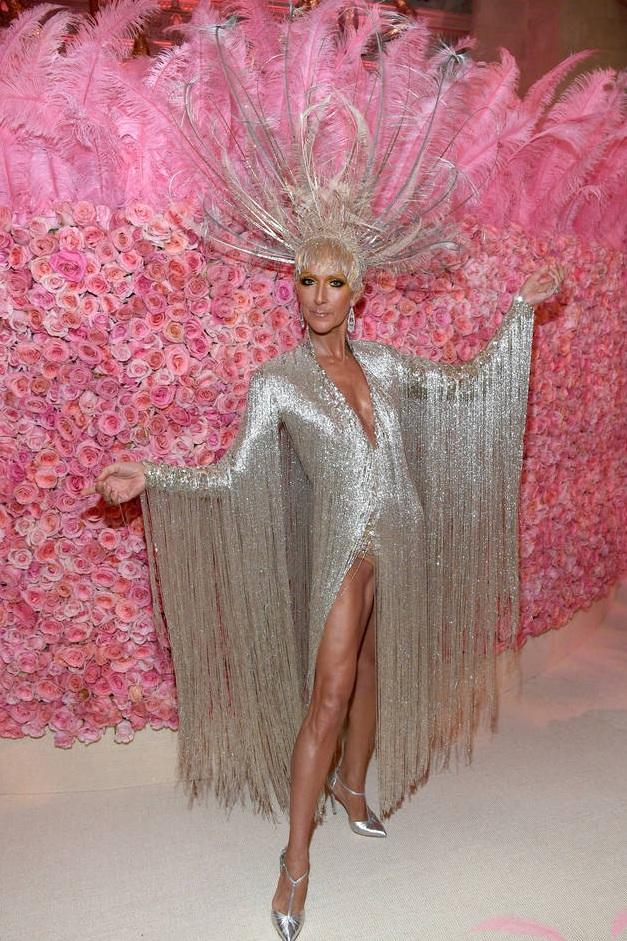 Celine Dion at the 2019 Met Gala. ©Getty