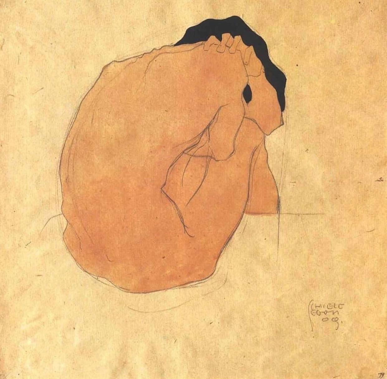 Illustration by Egon Schiele