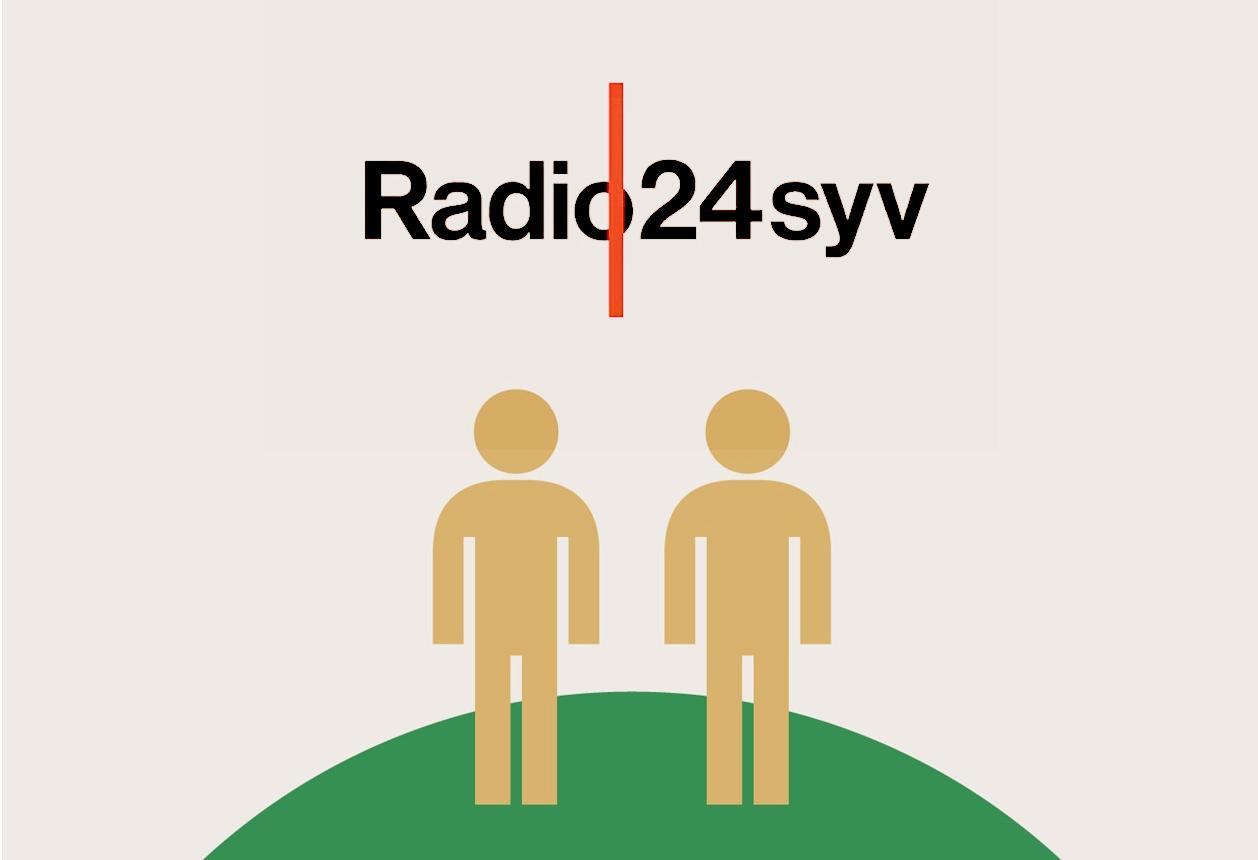 Mikrofonholder Radio 24syv, 2017
