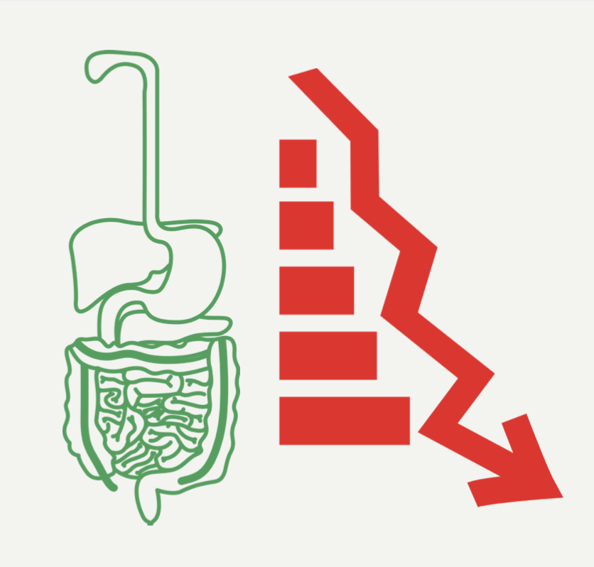 the intestines are where other dysfunction accumulates
