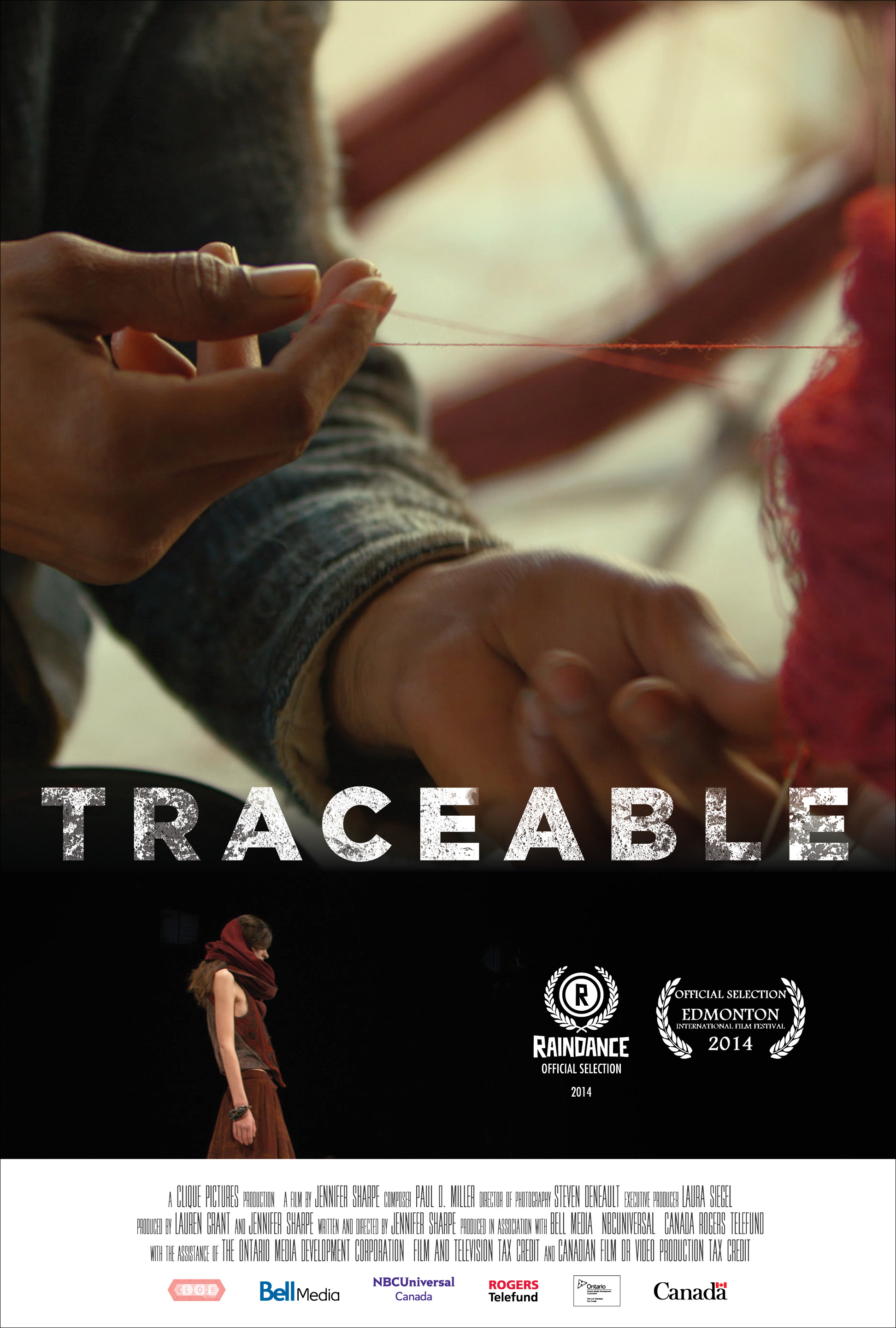 sYNOPSIS - Traceable is set against the backdrop of the fast-fashion industry and our increasing disconnect of where and how clothing is made, and the hands that create a garment. Interviews with traceability experts, intercut with emerging designer Laura Siegel's journey across India to produce her collection, the film explores our connection to the communities impacted by the products we consume.