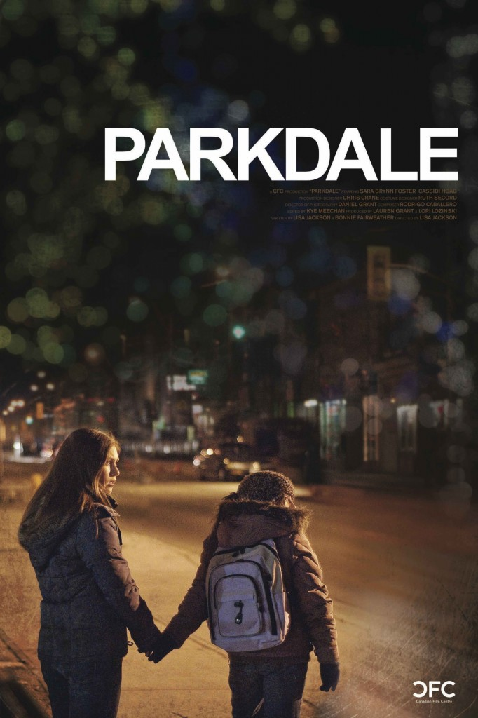 synopsis - An unexpected phone call sends two sisters out into the inner city streets as they try to escape another stint in foster care. Over the course of the night, their journey reveals the community of their gritty neighbourhood, and how easily innocence can be lost. PARKDALE takes an intimate look at the complex territory of the inner city, where the right choices aren't always easy, or obvious.