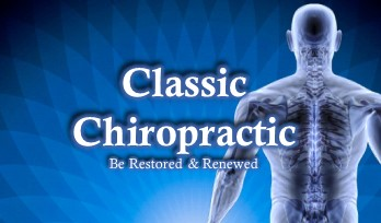 Business Card Design Classic Chiropractic