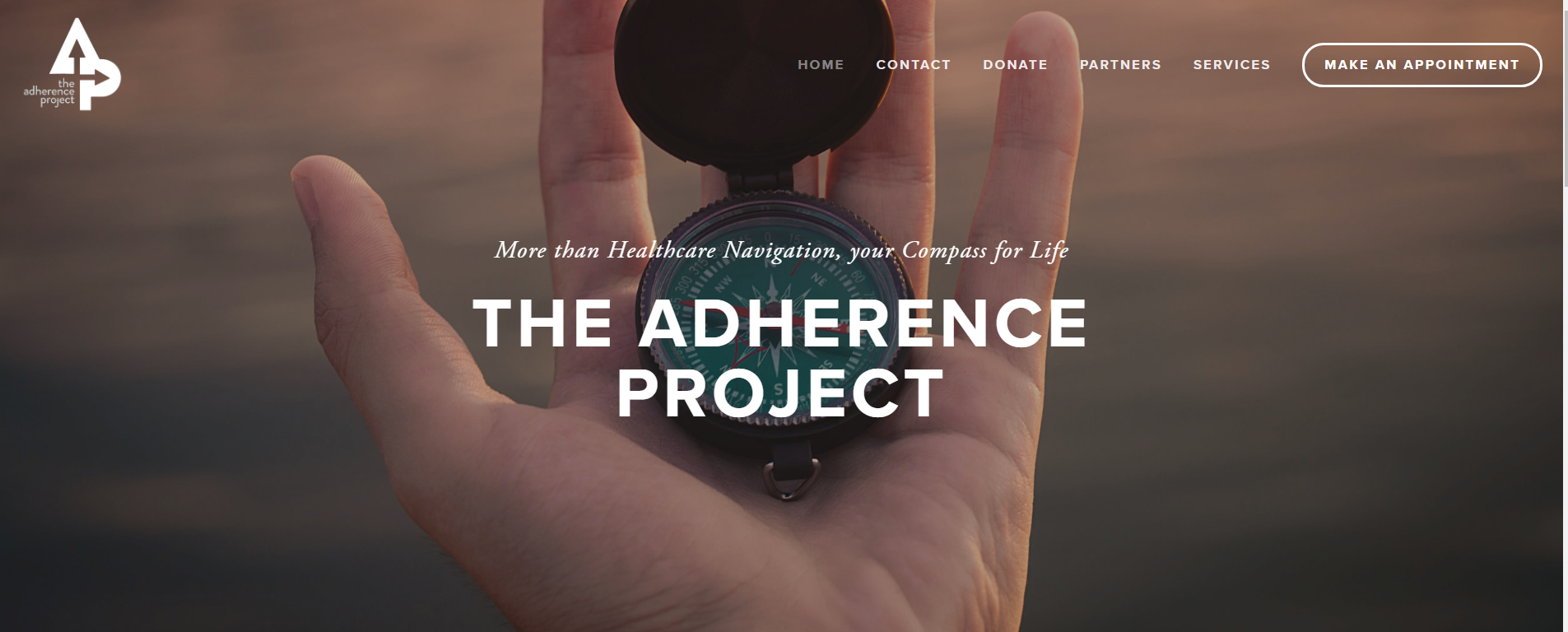 The Adherence Project - Non Profit Website
