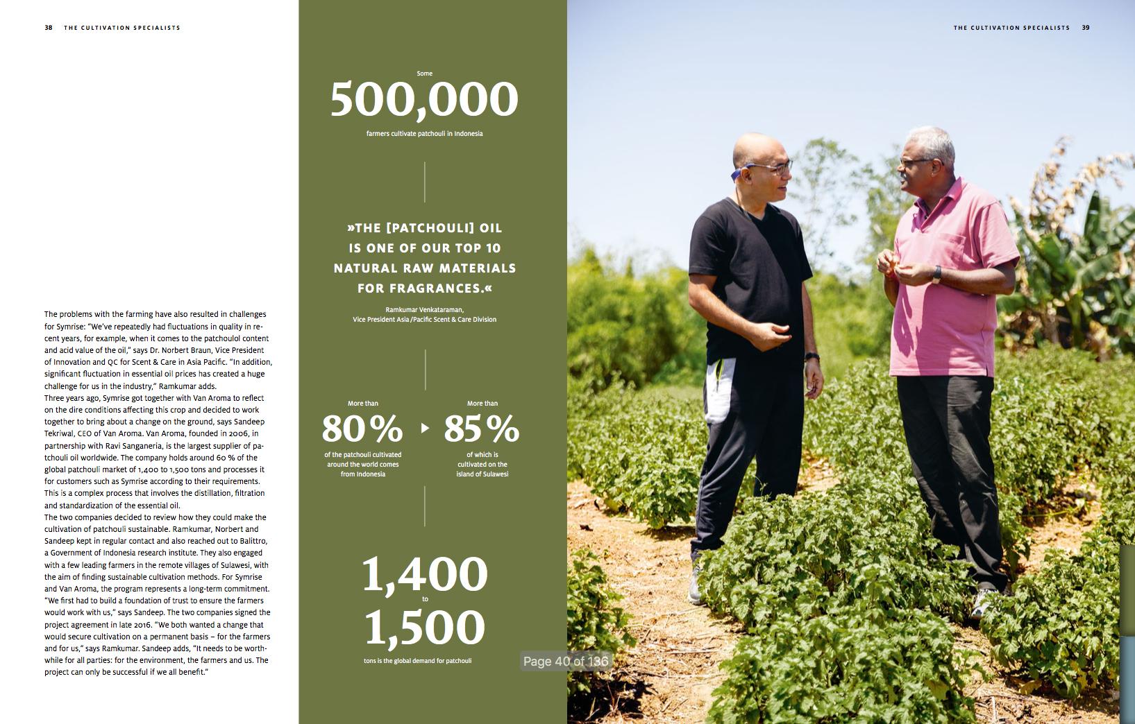 Symrise Annual Report, 2019.
